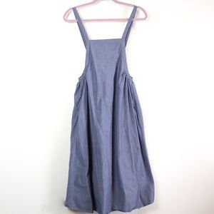 Alice + UO | Chambray Apron Dress